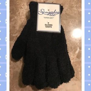 Super so soft black winter gloves ! New! One size